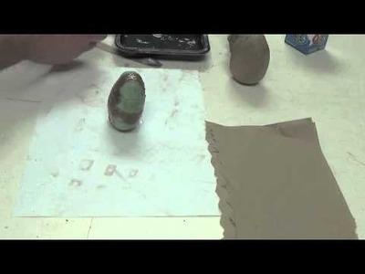 Making A Paper Mache Gravity Toy