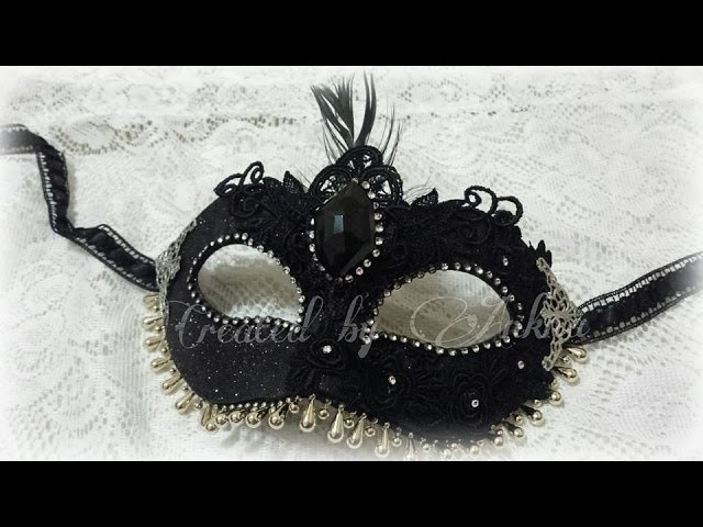 Masquerade Mask - DT Project for My Paper Passion