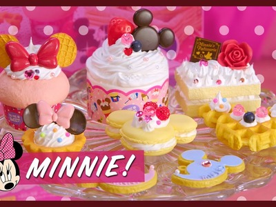 MINNIE MOUSE WHIPPLE SET  | Kawaii Cookin 4K | Strawburry17