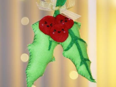 Mistletoe Plush ♥ DIY - KAWAIIMAS