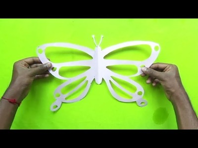 Paper Butterflies - How to Make a Paper Butterfly