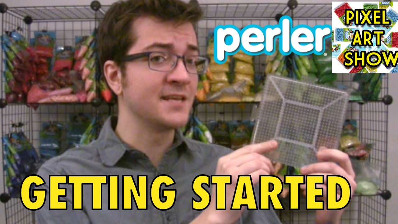 Perler Beads: Getting Started - Pixel Art Show