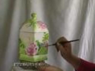 Pintura decorativa  bombonera