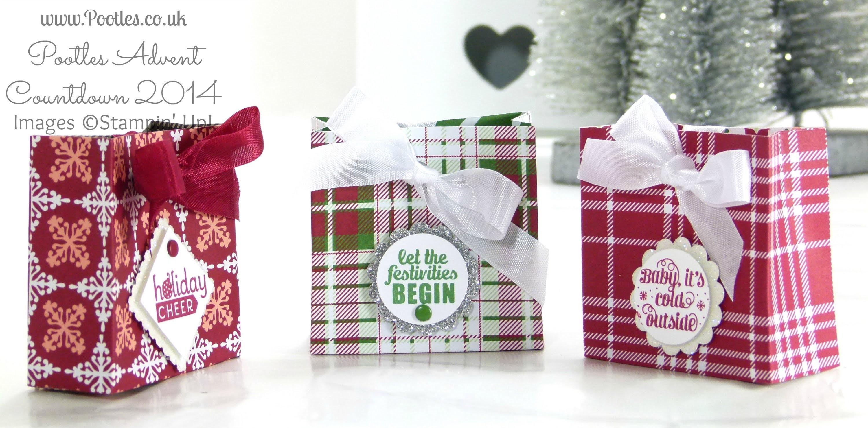 Pootles Advent Countdown Trim the Tree Bag Tutorial