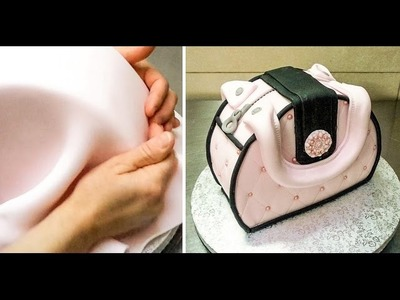 Simple Purse Cake Decorating - How To by CakesStepbyStep