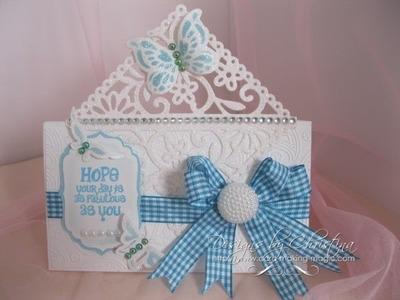 Spellbinders Butterfly Corner  (card-making-magic.com)