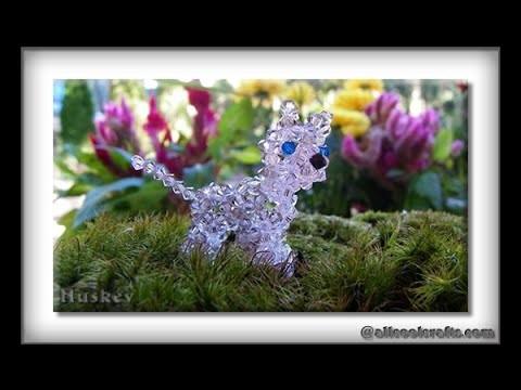 Swarovski Crystal Husky (dog) Part 4