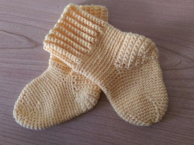 TUTORIAL: Calzino all'uncinetto (Parte 2) How to crochet a sock