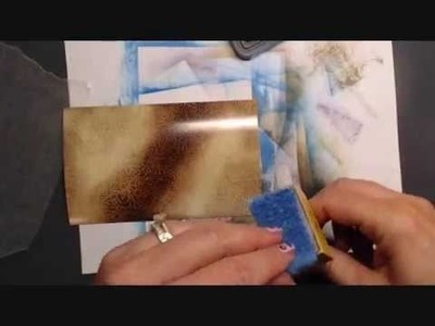 Wax paper and glossy what?! Technique TUTORIAL!