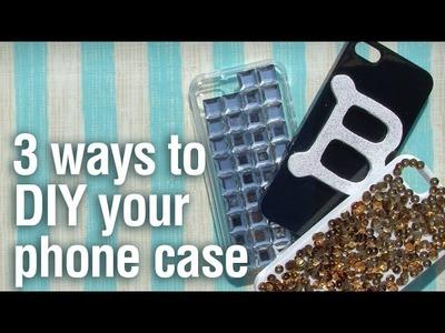 3 Ways to DIY your phone case