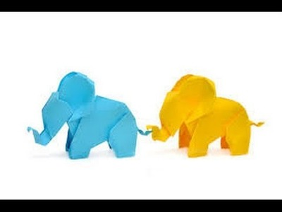 Animal Origami | Origami Paper | How to Make Origami Elephants
