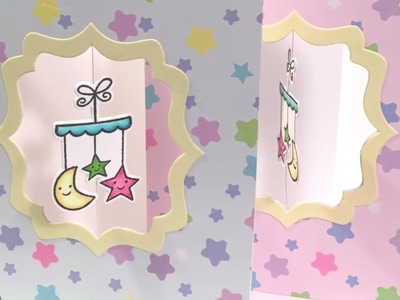 Bubblegum Paper: Baby Cards and Mirror Stamping