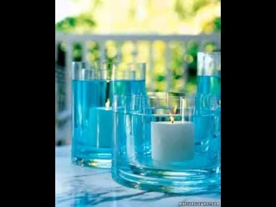 DIY Baby shower centerpieces ideas
