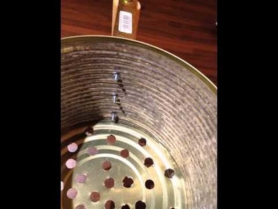DIY Chimney starter cost €2 to make from recycled material