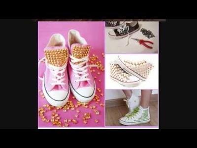 DIY Decorating Shoes Ideas