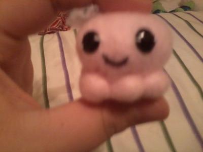 Diy mini octopus stuffed animal
