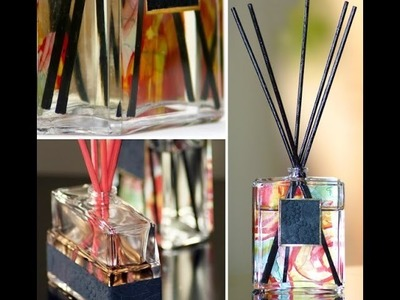 "DIY Oil Diffuser from perfume bottle ""MarieSparkleDIYs"""