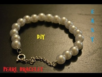 DIY: Pearl Bracelet! EASY to make