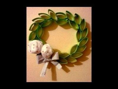 DIY Recycler les rouleaux du papier Toilette en Fleur . Recycle paper rolls Toilet To Flower