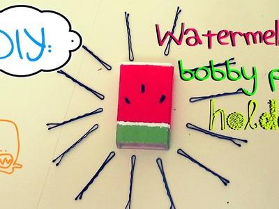 DIY: Watermelon Bobby Pins Holder