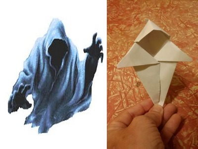 Halloween. Paper Ghost - Fantasma de papel