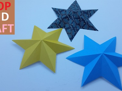 How to make a 3D Star from Paper