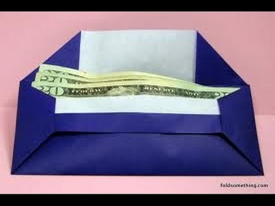 How to make a Envelope Origami? (Envelope Paper Folding step by step)