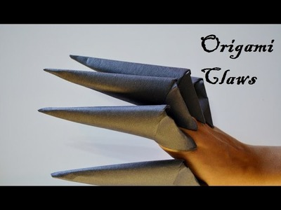 How to make a Paper Claw (Easy Steps)