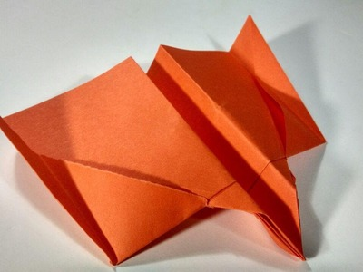 How to make a simple paper plane - Origami Airplanes