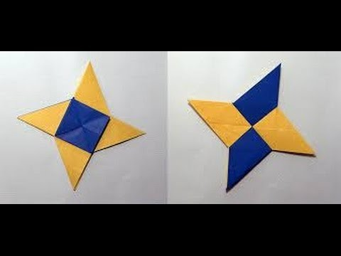 How To Make An Origami Ninja Weapons How To Make Origami Paper