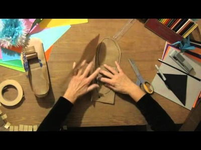 How to Make Paper Moccasins