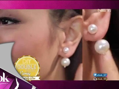 ILook - DIY Double Pearl Earring Inspired by Dior