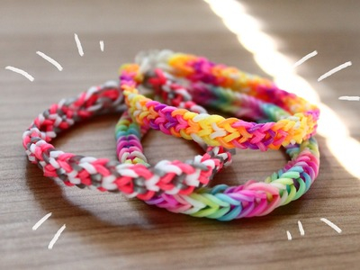 Inverted Fishtail Bracelet Without A Loom   DIY