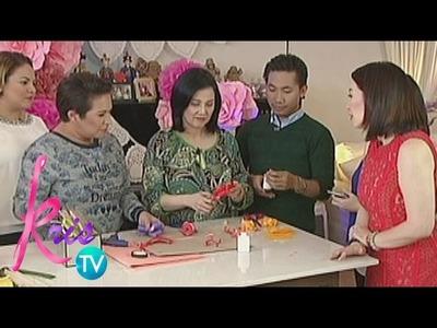Kris TV: Ballsy's Paper Flower