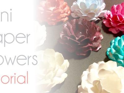 Mini Paper Flowers | Tutorial