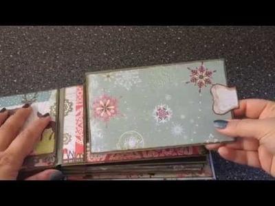 North Country Christmas paper bag mini