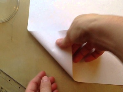 Paper folding- How to score paper