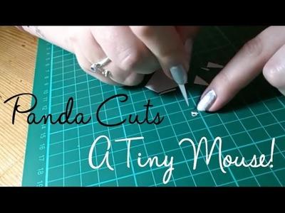 Paper Panda cuts a Tiny Mouse!
