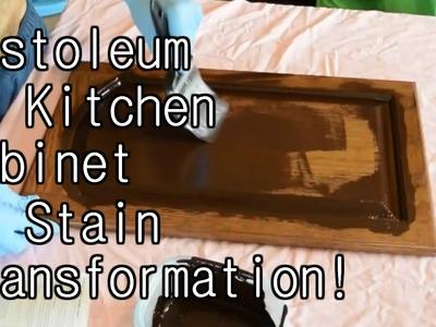 RUSTOLEUM KITCHEN CABINET TRANSFORMATION! DIY
