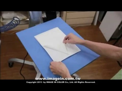 Self Weeding Transfer Paper for OKI White Toner Printer (Dark fabric)