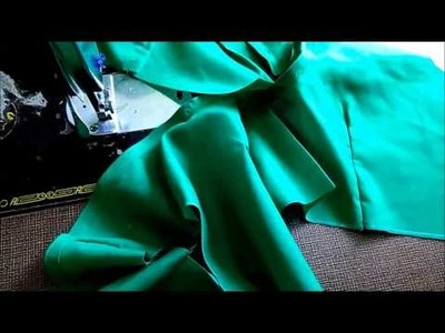Simple Blouse Measurement Paper cutting and Stitching in Hindi Part 3