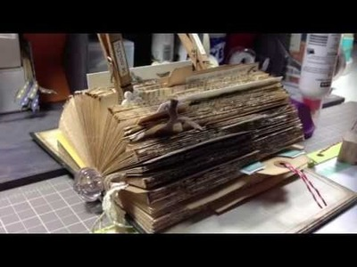 ALTERED BOOK INSPIRED BY SOMERSET LIFE AND BCDOULA