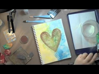 Art Journaling Fast Forward: You Me & Us Stamps