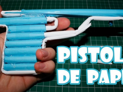 how to make a paper gun easy to make