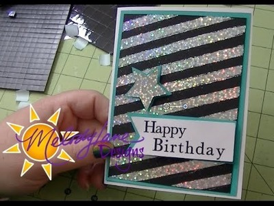 Birthday Card with Deco Foil & Digital Paper