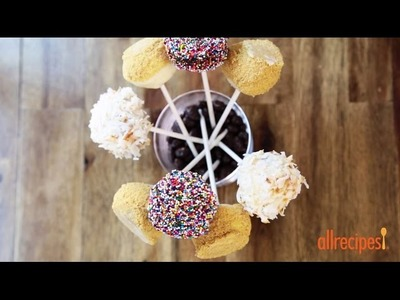 Cake Pop Recipes - How to Make Cheesecake Pops
