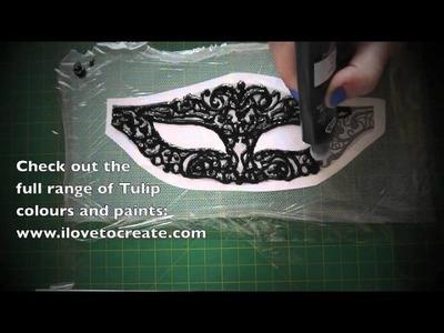Crafty Creatives box 4 kit - GOTHIC - Masquerade Mask!