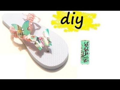 {DIY} Arizona Tea Flip Flps