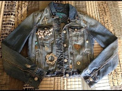 DIY: Decorate Your Denim Jacket (Temporarily)
