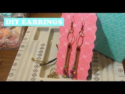 DIY Earrings Handmade and Where I Buy Supplies